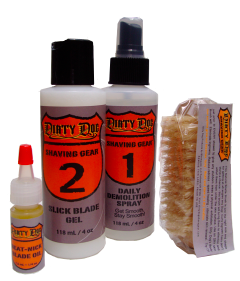 dirty dog shave gear
